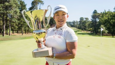 Canberra Classic winner Jiyai Shin will be playing on a rejigged Royal Canberra set up when she returns to defend her title.