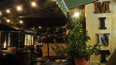 Mint Garden Bar, Gorman House,
