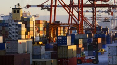 Fremantle Port is currently WA's only container port.
