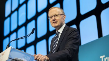 RBA governor Philip Lowe: The benefit of last week's cut to the cash rate is a lower exchange rate.