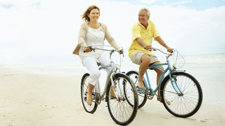 Getting a good bicycle can deliver happy moments.