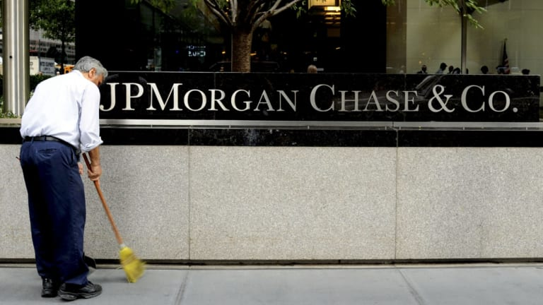 JP Morgan alone has a $US30 trillion book.