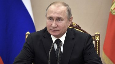 Russian President Vladimir Putin has questioned the notion of Ukraine's independence from Russia.