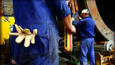 The greatest damage to jobs over the past 30 years has been to routine manual tasks such as machinery operators.