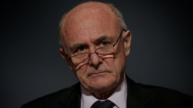 Professor Allan Fels, chairman of the federal government's Migrant Worker Taskforce.