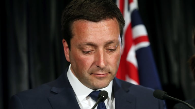 Several senior Liberal campaigners have expressed unhappiness about how Ian Hanke ran Matthew Guy's election campaign in Victoria.