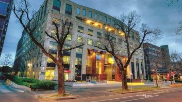509 St Kilda Road is full leased.