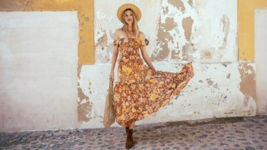 A piece from Byron Bay label Spell and the Gypsy Collective.