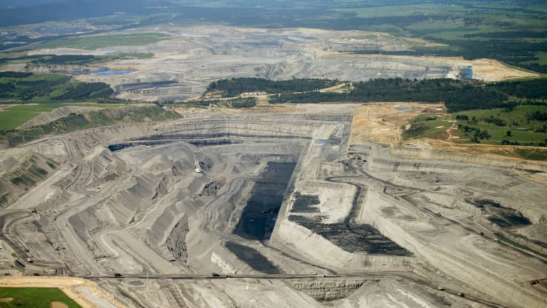 Hunter Valley coal mines: the industry still plans to expand despite concerns raised by the IPCC that thermal coal use must be phased out by mid-century.