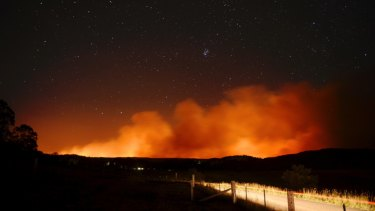 Ominous signs for a busy fire season in forested areas of eastern Australia this summer - if not before.