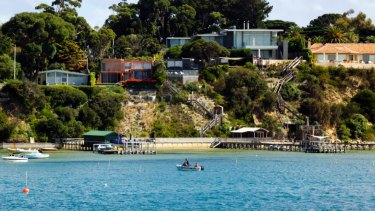 Airbnb use is prevalent along the Mornington Peninsula.
