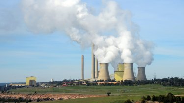 Victoria's Loy Yang A coal-fired power plant.