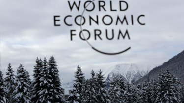 The Davos forum remains a male-dominated affair.