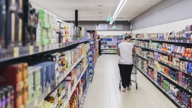 """Aldi's own-brand products were the most """"ultra-processed"""", researchers found."""