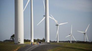 The Gunning Wind Farm.