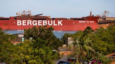 Real estate prices in Port Hedland have crashed.