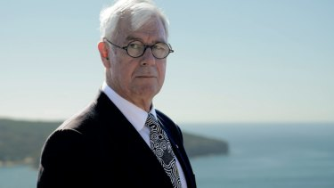 Julian Burnside says the AFP has undermined the refugee's status.