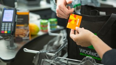Credit Suisse found customer data will help Coles and Woolworths squeeze out competitors.