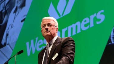 """""""Bemused"""": Wesfarmers chairman Michael Chaney."""