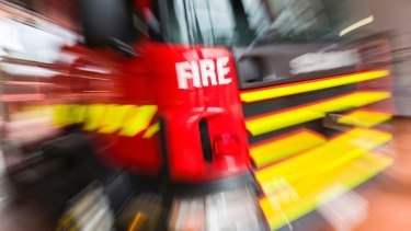 MFB crews have been called to a fire in a three-storey apartment block in St Kilda