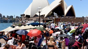 It's a ''user pays'' New Year's Eve in Sydney.
