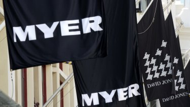 Myer is losing one of its high-profile concession brands.