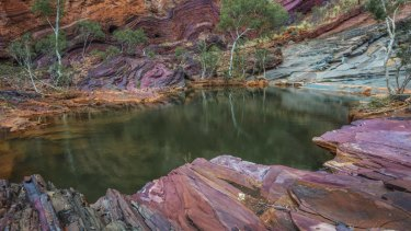 Hamersley Gorge is one of the Pilbara's main tourism attractions and it will be unlocked with the sealing of the Karratha Tom Price road.