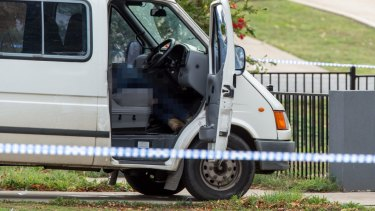 Paul Hogan died after he was shot while parked outside his house in Bacchus Marsh.