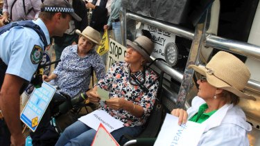Anti-mining protesters in the Pilliga would have been stymied by such laws.