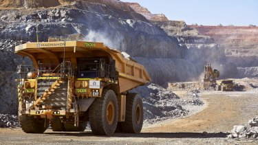 Iron ore is one of WA's primary exports.