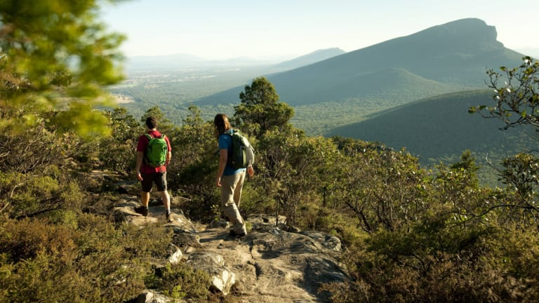Labor pledges to build more trails  and campsites throughout Victoria if re-elected.