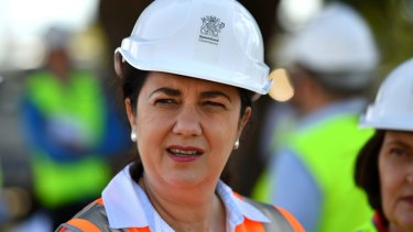"""Queensland Premier Annastacia Palaszczuk said she wanted a """"definite time frame"""" on the Adani project by Friday."""