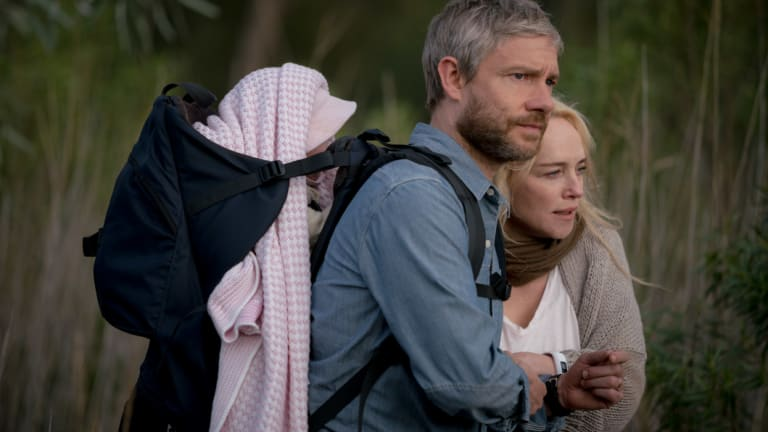 Martin Freeman and Susie Porter.