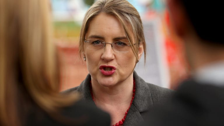 Public Transport Minister Jacinta Allan has apologised to commuters for an extrension to works on the Hurstbridge line.