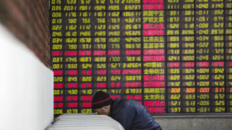 The Shanghai Stock Exchange was the world's worst performing stockmarket in 2018.