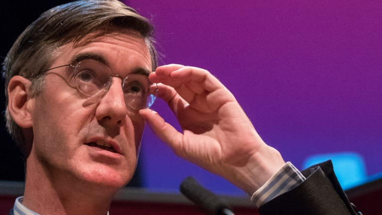 'Profoundly undemocratic': Jacob Rees-Mogg.