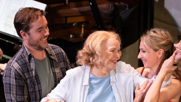 Toby Truslove and Ellen Burstyn and Lisa McCune in 33 Variations.