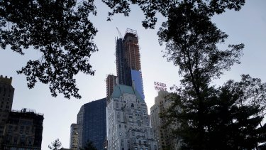 A 58th-floor condo at One57 in the prestigious One57 building sold last week.