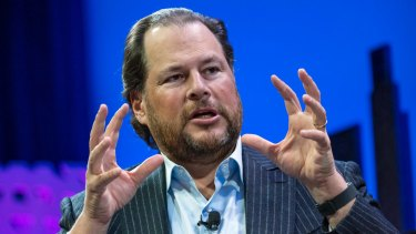 Analysts says Salesforce chief Marc Benioff was motivated to make the deal to bridge the cloud computing gap with Microsoft.