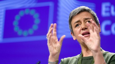 Led by European Commissioner for Competition Margrethe Vestager, the EU has imposed large fines on Alphabet's Google and other companies.
