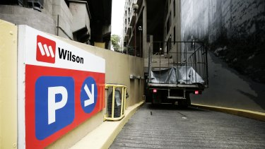 Wilson Parking expects to be hosting more cars as capital cities return to normal.