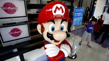 Super Mario has broken auction records.