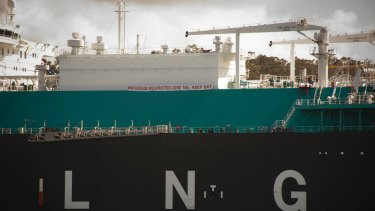 Australia's booming LNG industry has been stalled by a severe downturn in energy demand.