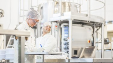 CSL's biotechnology manufacturing facilities in Melbourne, where the University of Queensland vaccine was set to be manufactured should it be successful.
