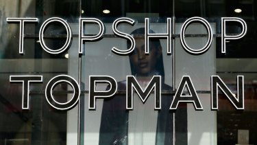Topshop and Topman have gone into administration in Australia.