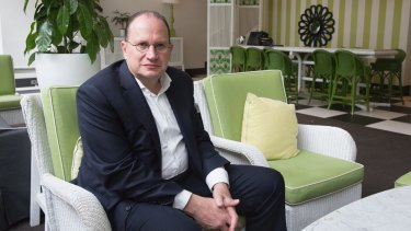 HSBC chairman Mark Tucker is navigating a tricky political and economic path..
