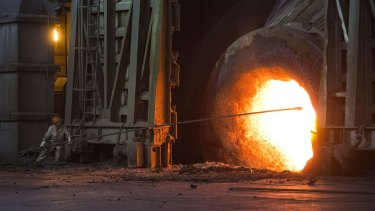 The steel sector generates up to 10 per cent of the world's greenhouse gas emissions.