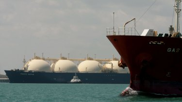 Santos' Barossa gas project is intended to supply replacement gas for Darwin LNG.