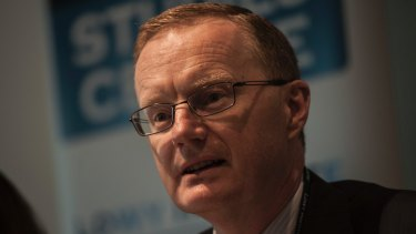 Reserve Bank governor Philip Lowe.