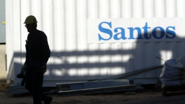 A push for Santos to set hard targets for direct and indirect emissions received was supported by nearly half of its investors.